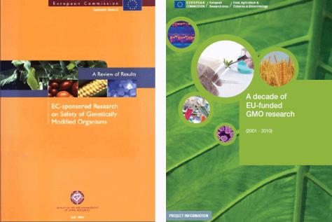 25 anos Investigação Relatório CE - Culturas GM - Transgénicas  UE - PNG