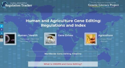 rastreio global da edição do genoma